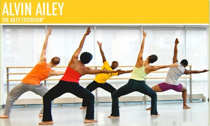 Alvin Ailey - Clinton: Take Three Dance Classes for $25 (Normally $51)