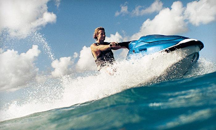 Hampton Beach Parasail and Jet Ski - Multiple Locations: Jet Ski Rental or Parasailing Experience for Up to Two at Hampton Beach Parasail and Jet Ski (Up to 53% Off)