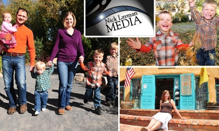 Nick Layman Media - Albuquerque: $59 for a One-Hour Photo Shoot and Print Package from Nick Layman Media ($300 Value)