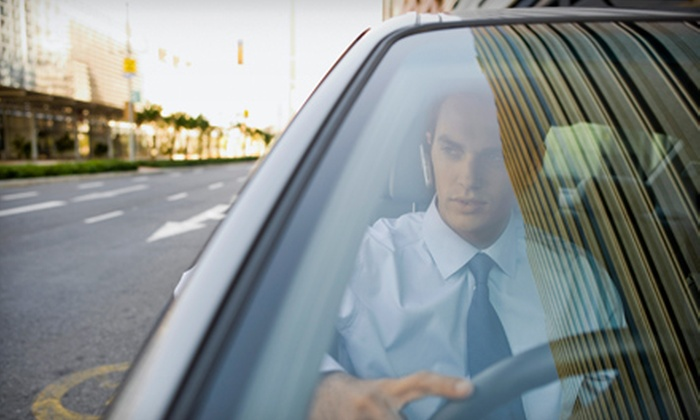A Shade Above Window Tint - Multiple Locations: Windshield Repair, Windshield Replacement, or Window Tinting at A Shade Above Window Tint (Up to 60% Off)