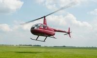 Baptême de lair en hélicoptère de 20 min avec Helico.nu dès 89,99 €