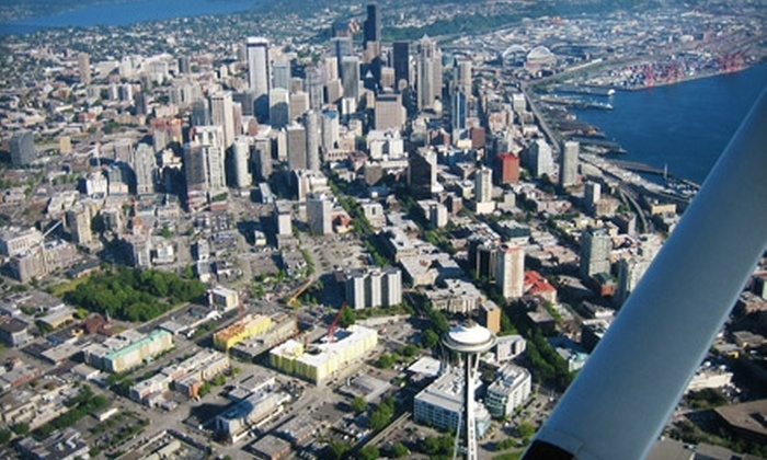 Airwork LLC - Renton: $78 for a Ground Lesson and 30-Minute Airplane Flight from Airwork LLC in Auburn ($156 Value)