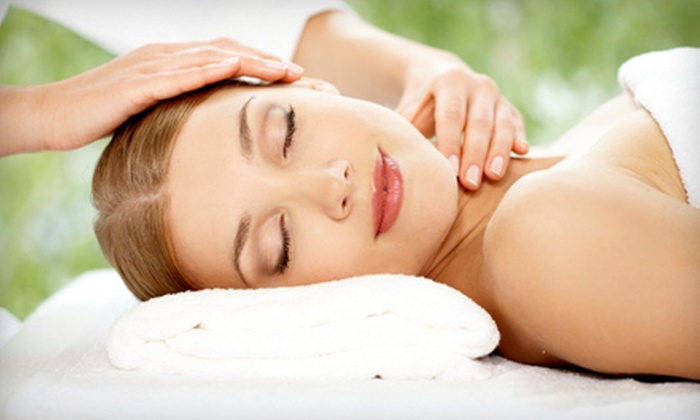 Mickie Grist at Creative Health - Downtown: Ayurvedic Facial Package or Lymphatic Drainage Massage Package from Mickie Grist at Creative Health (55% Off)