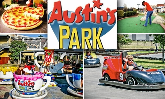 Austin's Park  - Central Commerce Business Park: $11 Admission to All-Day Entertainment at Austin's Park