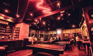 Ten Street: Up to Three-Hour Pool Play with Up to AED 150 Toward Food and Soft Drinks or House Beverages at Ten Street