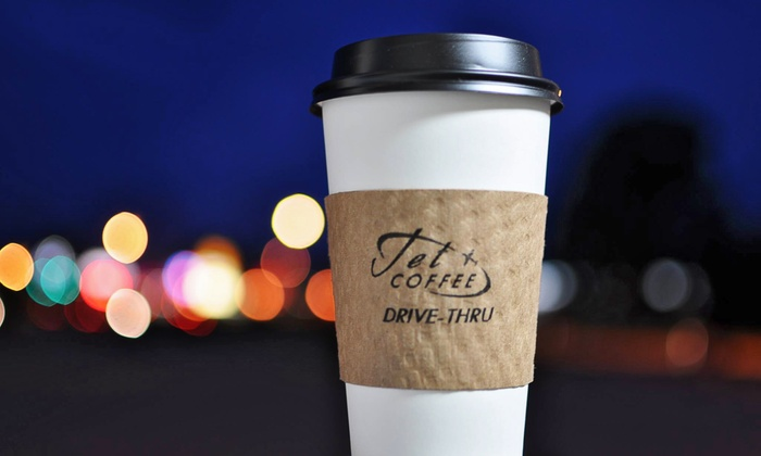 Jet Coffee - Florence: $12 for Five Groupons, Each Good for $4 Worth of Coffee at Jet Coffee ($20 Total Value)