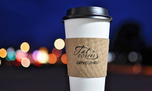 Jet Coffee: $12 for Five Groupons, Each Good for $4 Worth of Coffee at Jet Coffee ($20 Total Value)