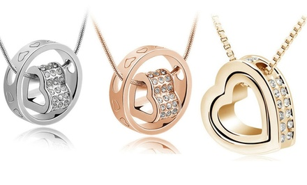 Florence Scovel Swarovski Pendants. Multiple Styles Available.
