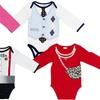 Babygear Long-Sleeved Dress-Up Infant Bodysuit