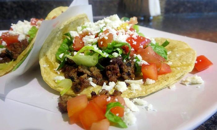 Torta's Tacos - Near North Side: $20 for a Taco Meal for Two with Chips, Guacamole, and Churros at Torta's Tacos (Up to $29 Value)