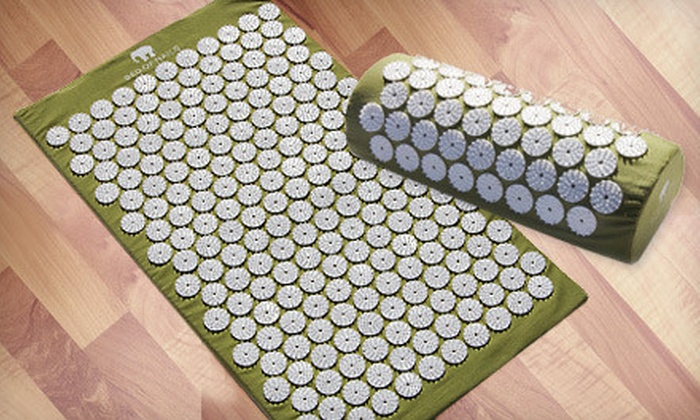 Bed of Nails Acupressure Mat and Pillow: Bed of Nails Acupressure Mat, Pillow, or Both (Up to 52% Off)