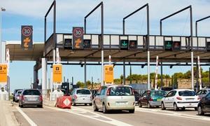 """VINCI Autoroutes: Télépéage : 1 ou 2 badges donnant droit à 1 an d'accès à la formule """"Temps Libre"""" de VINCI Autoroutes dès 8 €"""
