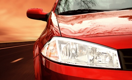 $11.49 for a SuperSaver Wash, Wheel Cleaning, and Exterior-Only Wash at Top Hat Car Wash ($24 Value)