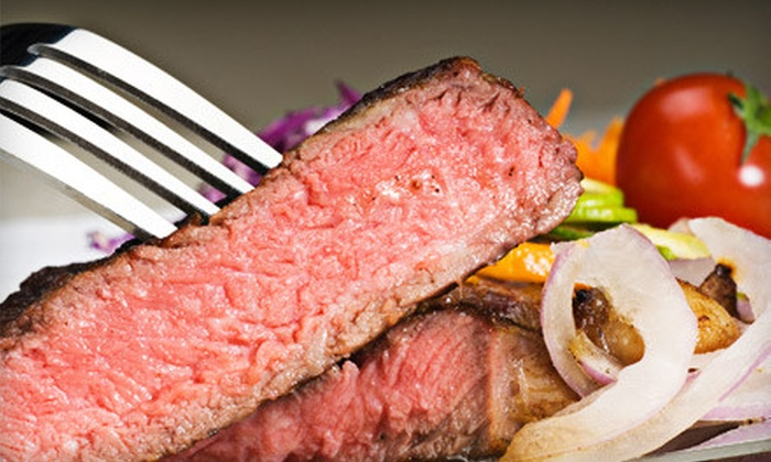 Signature Steakhouse - The Villages of Palm Beach Lakes: Dinner for Two or Four at Signature Steakhouse in West Palm Beach (Up to 57% Off)
