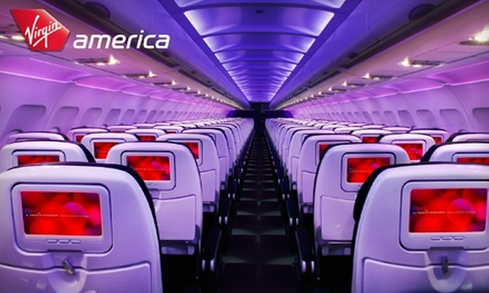 Virgin America: $70 Off Round-Trip Travel Between Los Angeles and Chicago on Virgin America