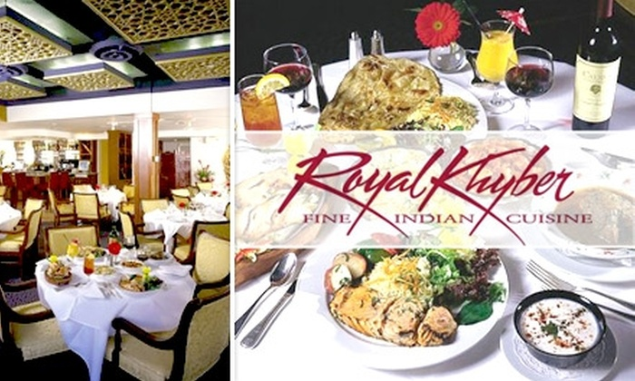 Royal Khyber - Costa Mesa: $20 for Up to $45 Worth of Indian Cuisine at Royal Khyber