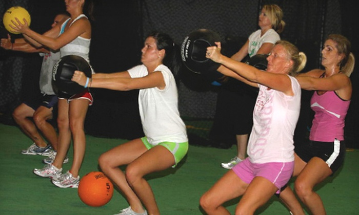 Peak Physiques - Ellerbe Woods: $35 for Eight Fitness-Boot-Camp Sessions at Peak Physiques ($80 Value)