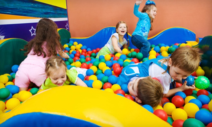 Adventure Kids Playcare - Austin: Five or 10 Hours of Playtime at Adventure Kids Playcare in Cedar Park