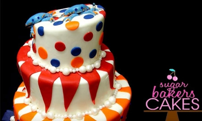 SugarBakers Cakes - Catonsville: $11 for a Six-Inch Cake from SugarBakers Cakes (Up to $22 Value)