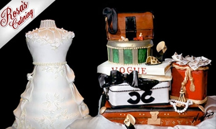 Rosa's Catering - 7: $50 for $100 Worth of Custom-Designed Cakes or General Catering from Rosa's Catering