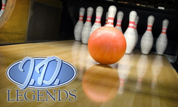 J.D. Legends - Franklin: $10 for $20 Worth of Bowling at J.D. Legends in Franklin