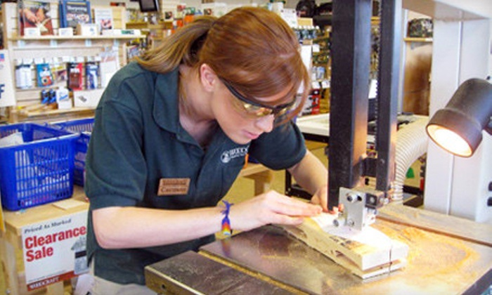 Woodcraft - Springdale: $20 for $40 Worth of Woodworking Tools, Supplies, and Plans at Woodcraft