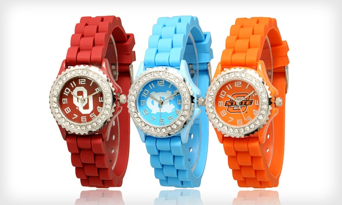 Go Design Bling College Watches: $17 for a Go Design Bling College Watch ($29.99 List Price). 31 Options Available. Free Shipping and Free Returns.