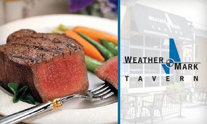 Weather Mark Tavern - Chicago: $10 for $20 Worth of American Bistro Cuisine and Drinks at Weather Mark Tavern