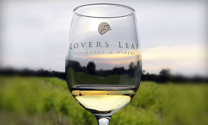 Lovers Leap Vineyards and Winery - Lawrenceburg: Wine Tasting for Two or Four at Lovers Leap Vineyards and Winery in Lawrenceberg (Up to $70 Value). Includes Wine Glasses, Bottle of Wine, and Self-Guided Tour.