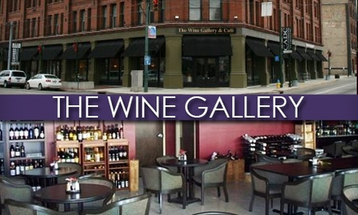 The Wine Gallery - Downtown: $10 for $20 Worth of Bistro Fare at The Wine Gallery