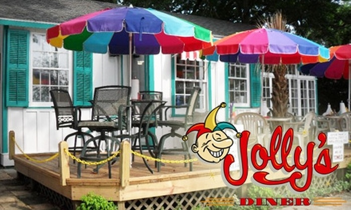Jolly's Diner - Fairhope: $5 for $10 Worth of Hot Dogs, Wraps, Frozen Custard, and More at Jolly's Diner