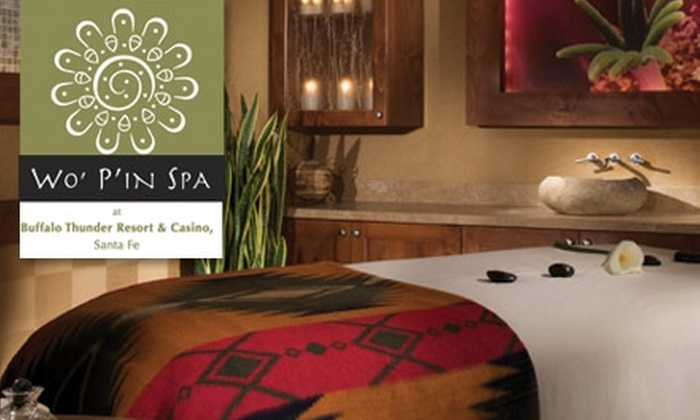 Wo' P'in Spa at Hilton Golf Resort & Spa  - Downtown Santa Fe: $60 for $130 Worth of Services at Wo' P'in Spa at Hilton Golf Resort & Spa at Buffalo Thunder