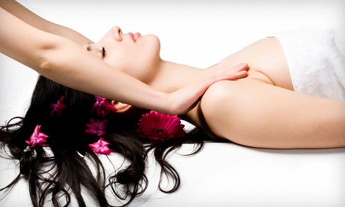 AgeLoc Day Spa - West Rockville: $59 for a One-Hour Custom Facial with 15-Minute Upper-Body Massage at AgeLoc Day Spa in Rockville ($140 Value)