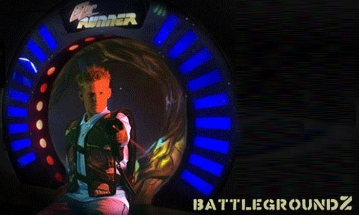BattlegroundZ - Attleboro: $20 for All-Day Laser Tag and 60 Arcade Tokens at BattlegroundZ ($40 Value)