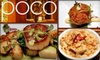 Poco Restaurant and Lounge - East Village: $25 for $50 Worth of Tapas and Drinks at Poco Restaurant