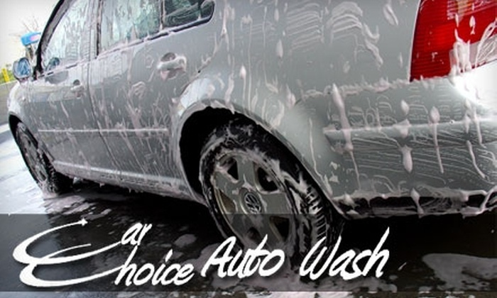 Car Choice Auto Wash - Brown Deer: $9 for a One-Month Platinum Car-Wash Package at Car Choice Auto Wash ($29.99 Value)