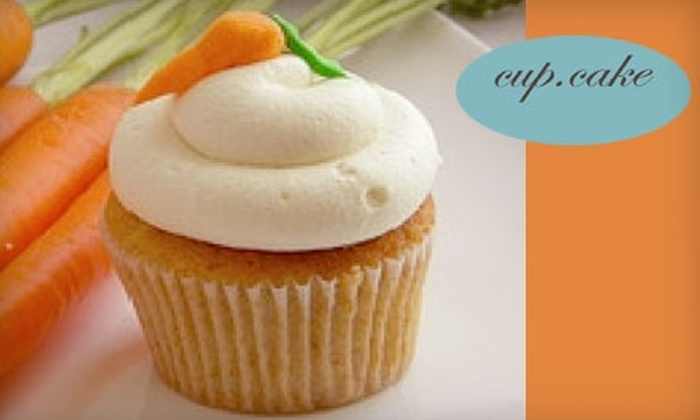 cup.cake bakery - Royal Oak: $12 for $27 Worth of Sweets and Drinks from cup.cake Bakery