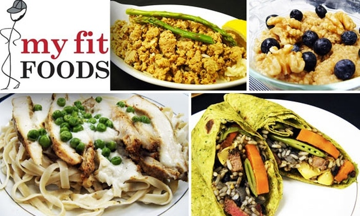My Fit Foods - Houston: $15 for $40 Worth of Prepared Healthy Food to Take Home from My Fit Foods
