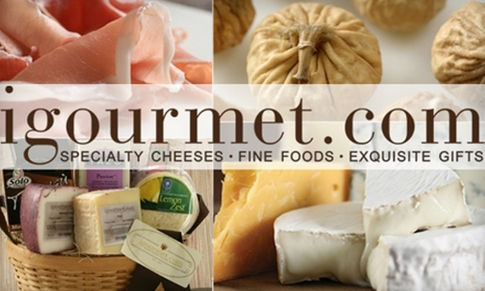 Igourmet - Brookline Village: $20 for $40 Worth of Gourmet Gift Baskets and More from igourmet.com