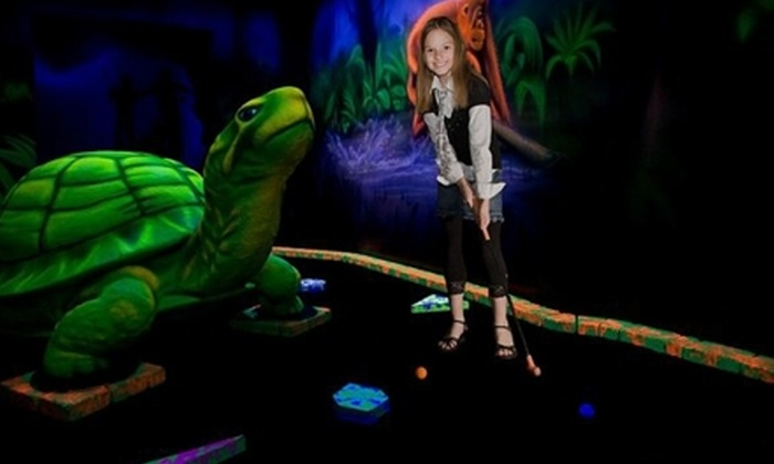 King Putt - Multiple Locations: $10 for Ultimate Mini Golf Package for Two, or Two Add-On Participants to a Birthday Party, at King Putt ($20 Value)