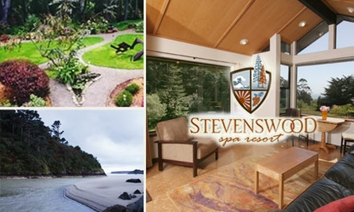 Stevenswood Lodge - Mendocino-Anderson: $299 for a Luxurious Room and Gift Package with Tour and Massage at the Stevenswood Spa Resort (Up to $875 Value). See Below for a $200 Package.