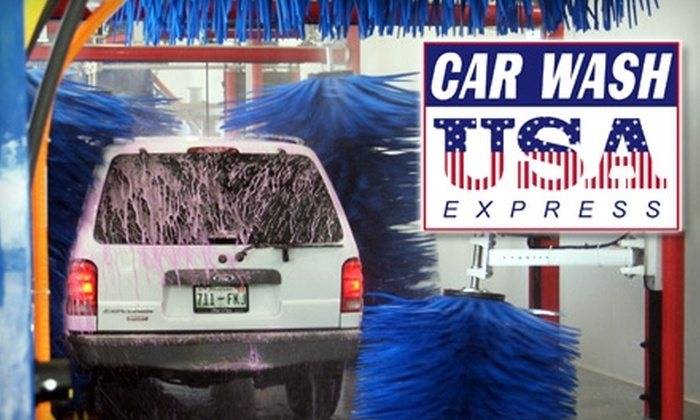10 for two car washes car wash usa express groupon car wash usa express solutioingenieria Choice Image