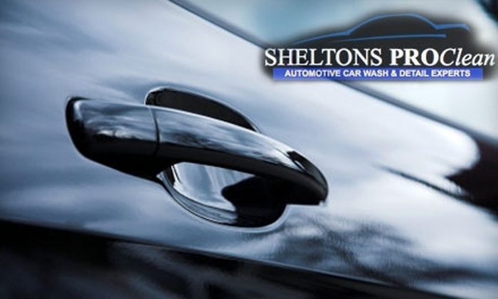 Shelton's ProClean - Multiple Locations: $34 for a Complete Car Cleanup or $39 for a Complete SUV Cleanup at Shelton's ProClean