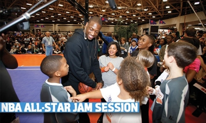 NBA - Downtown Los Angeles: One Adult Admission (Up to $30 Value) or One Child Admission (Up to $20 Value) to the NBA All-Star Jam Session. Choose From Eight Options.