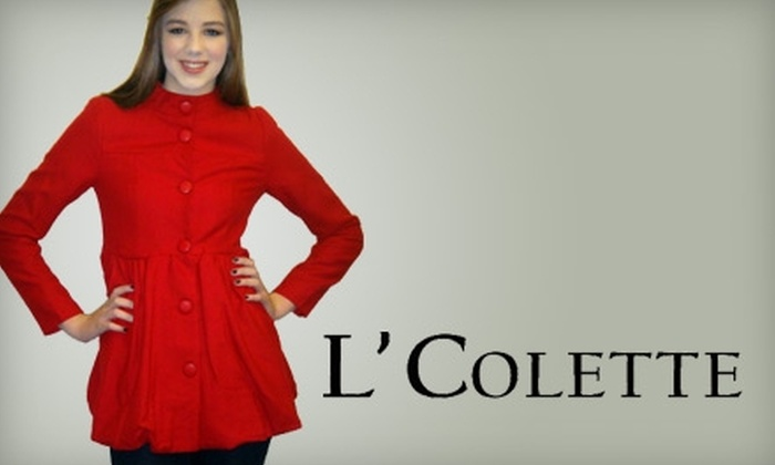 L'Colette Boutique - Holliday Hills: $25 for $50 Worth of Apparel and Accessories at L'Colette Boutique