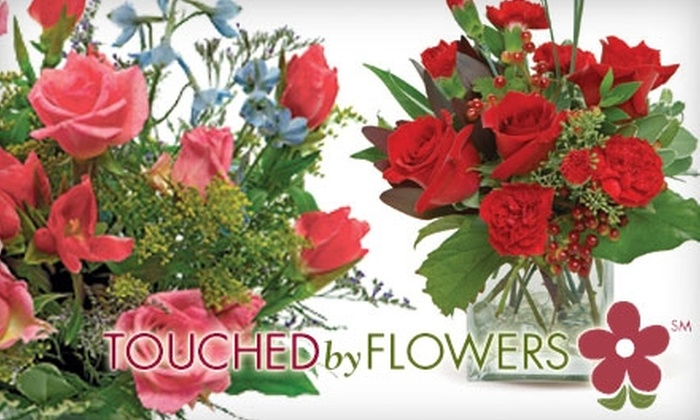 Touched By Flowers: $30 for $50 Worth of Floral Goods and Delivery from Touched By Flowers