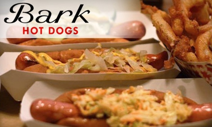 Bark Hot Dogs - Park Slope: $8 for Any Three Hot Dogs at Bark Hot Dogs ($16.50 Average Value)
