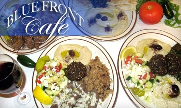 Blue Front Cafe - The Haight: $7 for $15 Worth of Mediterranean Fare, Sandwiches, and More at Blue Front Cafe