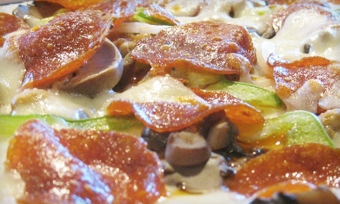 Pizza Forum - Multiple Locations: $10 for $20 Worth of Pizza, Pasta, and Sandwiches at Pizza Forum. Choose from Two Locations.