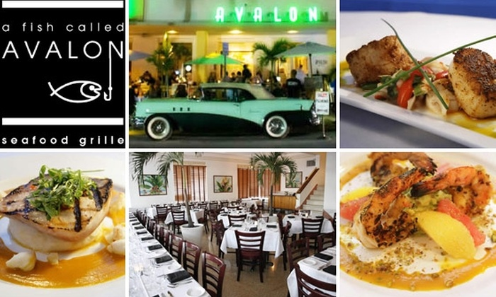A Fish Called Avalon - Miami: $40 for $85 Worth of Food and Drink at A Fish Called Avalon